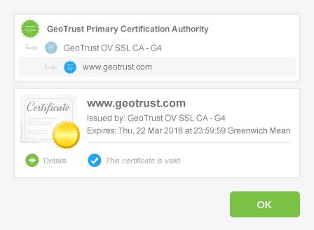 smallGod webHosting | Unternehmen-validiertes SSL - SSL Zertifikate